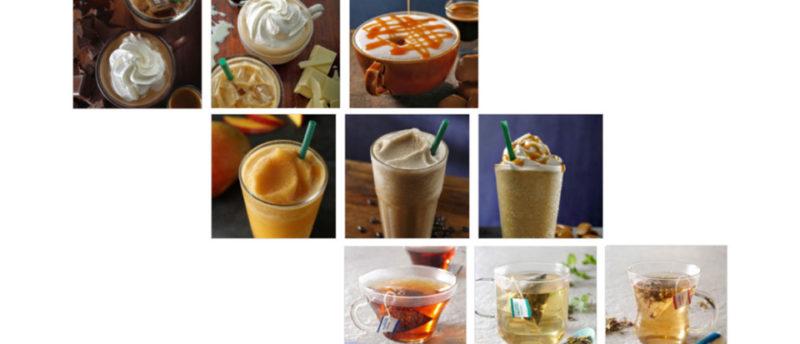 スタバはコーヒーの他にどんなドリンクがあるの?コーヒー以外のドリンク一覧と一言解説