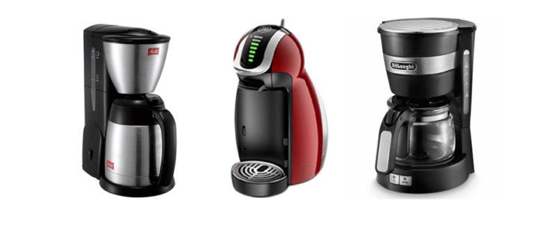 一人暮らし向けのコーヒーメーカー、オススメ3機種!