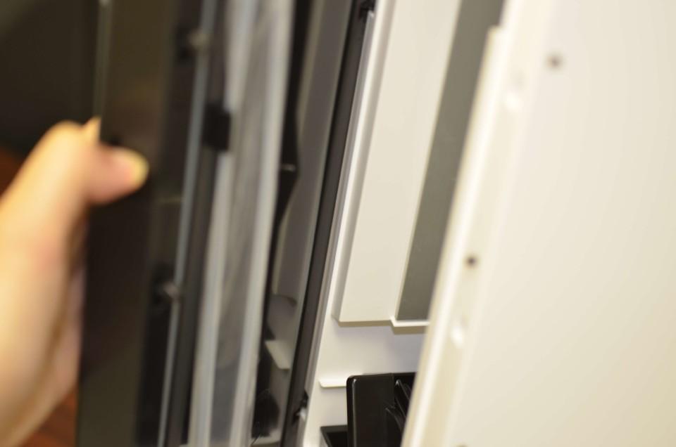 アイスクレマサーバー 扉の開閉