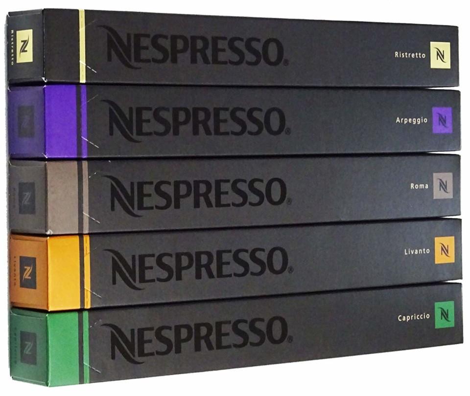 ネスプレッソのカプセル