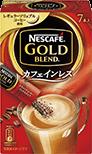 ネスカフェ ゴールドブレンド カフェインレス スティックコーヒー