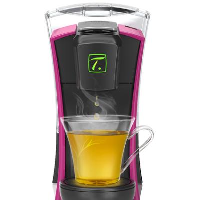 スペシャル.tでお茶を抽出しているところ