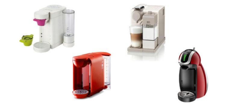 おすすめのカプセル式コーヒーメーカーはどれ?4機種を徹底比較してみました。