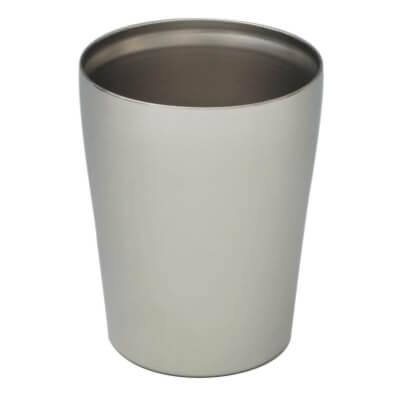 山善(YAMAZEN) 保冷温マジックグラス マット仕上げ 真空グラス ITD-250(MT)