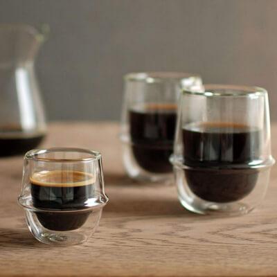 KINTO (キントー) コーヒーカップ ダブルウォール クロノス 250ml 23107_