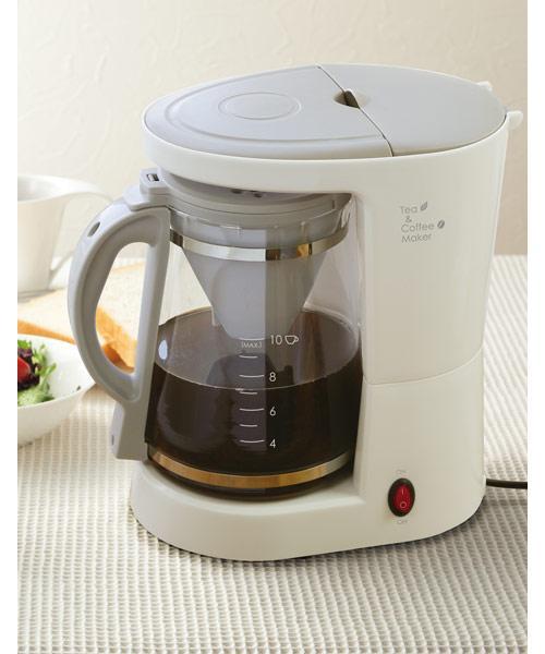 ティー&コーヒーメーカー(ブリーゼ CM6631A)