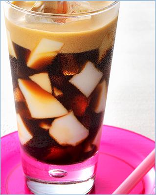 ローストブレンド&アーモンドゼリー(杏仁豆腐)