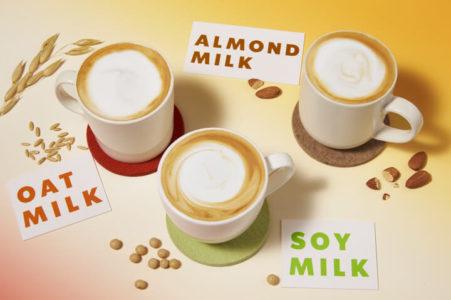スターバックスの植物性ミルク