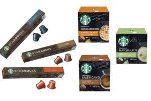 スターバックスのコーヒーカプセル登場!期間限定でスタバグッズがもらえる
