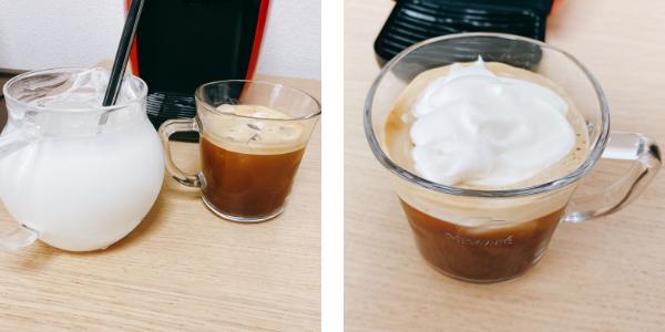 バリスタでアレンジ:アイスウィンナーコーヒー