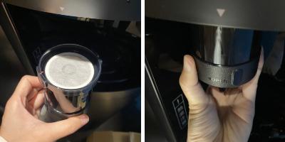 フレシャスでアイスコーヒーを淹れる